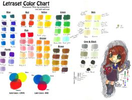 Letraset ColorChart'n'Tips by PixAnna