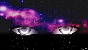 Galaxy Eyes by sasunaruiscute99