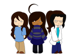 The Weird Trio by Triforcefangirl