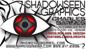 Shadowseen Business Card by andro140