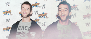 CM Punk Banner by TheSoulOfTheSouless
