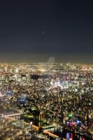 view from skytree IV by wont-seem-to-heal