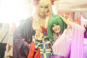 Sheryl Nome and Ranka Lee by Lika-Lu