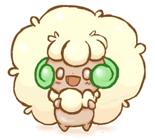 Whimsicott by wild-drive