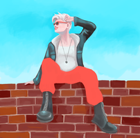 Rooftop by caiterprince