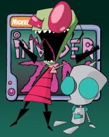 Invader Zim by Ellie177