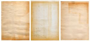Vintage Paper Scan Trio by stock-pics-textures