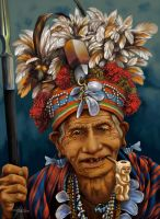 Ibaloy Chief by FerdinandLadera