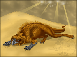 'Flightless Sand' by DRGNCAT