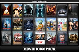 Movie Icon Pack 31 by FirstLine1