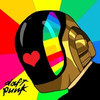 Guy-Man Daft Punk by MottoMoto