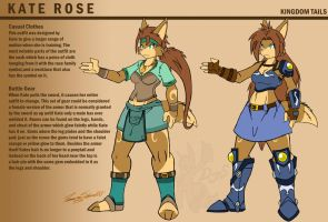 Kate Rose Equipment Sheet by Duaxer