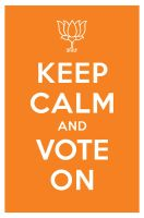 keep calm and vote on by manishmansinh