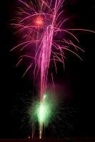 Hallandale Fireworks I by secondclaw