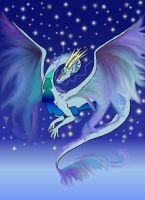 Sky DRagon by kristhasirah