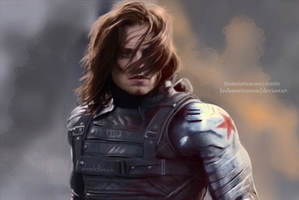 Winter Soldier by LindaMarieAnson