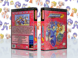 MegaMan 2 Complete Works Cover by TuxedoMoroboshi