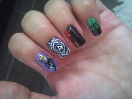twilight princess nails by amanda04