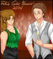 APH OC - Happy New Year 2014! by ByOkinuChan