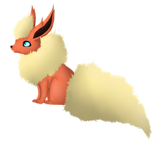 Flareon by Watertrack
