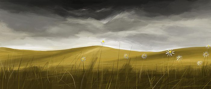 Speed Painting - Meadows by HungryHippos