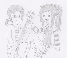 AT x FC Crossover - Zack and Marceline by RaijinSenshi
