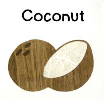 Coconut ABC's by hiddentalent1