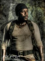 TWD: Tyreese Williams: HDR Edit by nerdboy69