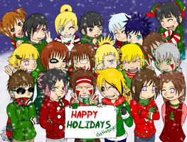 Happy Holidays to my Watchers by Numbuh-9