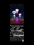 Tim Burton Celebration Poster by TheDisney1901atDA