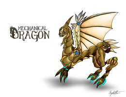 Mechanical Dragon by AngieMyst
