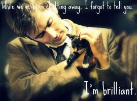 Tennant plus Kitten equals...... by MerlinLemon
