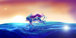 Suicune [Request] by CynicalAshhole