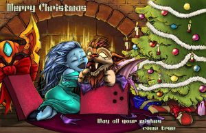 Wow xmas card -MERRY CHRISTMAS by mumitrold