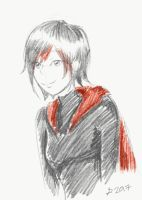 Ruby Rose Doodle by Fujo-tan