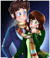 [CM] Sarah and Harry by DoctorSiggy