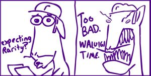 Waluigi presents Ponies by TurboJUK