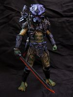 NECA Battle Armor Lost Predator by Police-Box-Traveler