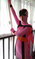 Pink power ranger costume by zentaisuit