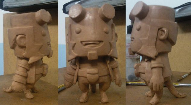 Hellboy Toy by renatothally