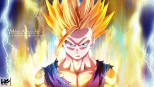 Dragon Ball Z Super Gohan by Wilder131296