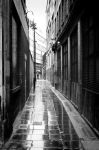 Alley in the rain by PeteNoir