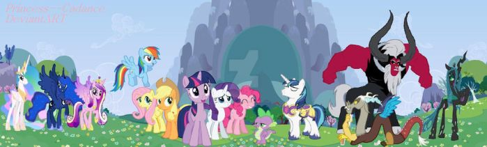MLP Characters I've Met by Princess--Cadance
