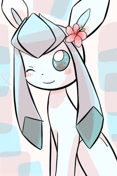 Glaceon charm by AnySketches