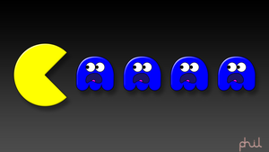 Pacman Wallpaper 01 HD by Nektorus