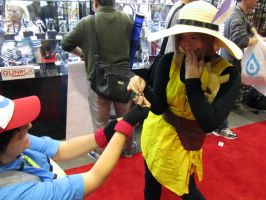 AX11-Ash Proposes to Yellow by moonymonster