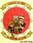 The Peck Family Christmas Card by Naked-Sasquatch