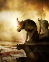 The Watchers by violscraper