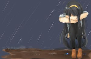 Even The Sky is Crying by BlueJNeko