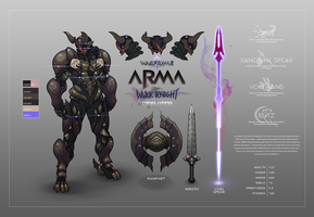 ARMA - Warframe Fan Concept by TravisHarris